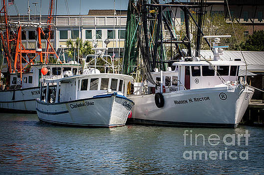 Dale Powell - Charleston Star Shrimp Boat Docked on Shem Creek