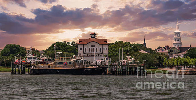 Charleston Wharf by Dale Powell