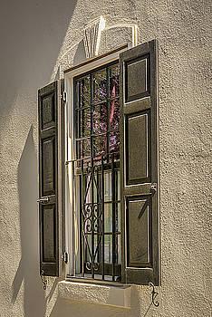 Charleston Window Detail by Robert Mitchell