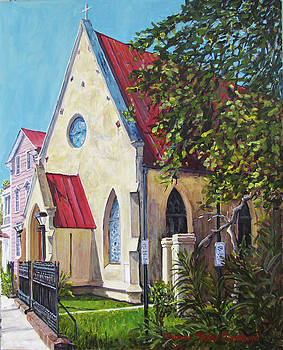 Charleston's St. John's Reformed Episcopal  by Thomas Michael Meddaugh