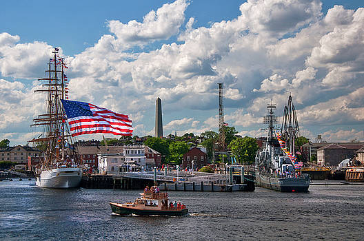 Charlestown Navy Yard - Boston by Joann Vitali