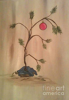 Charlie Brown Christmas Tree by Patricia Alexander