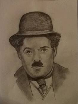 Charlie Chaplin by Covaliov Victor