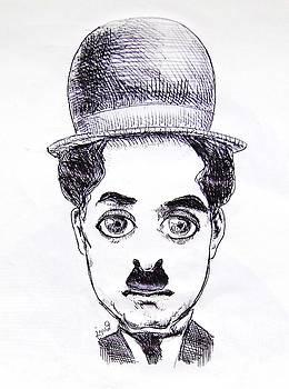 Charlie Chaplin by Mehrdad Sedghi