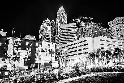 Paul Velgos - Charlotte NC Downtown Black and White Photo
