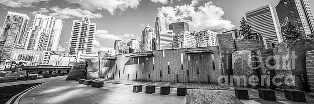 Paul Velgos - Charlotte Panorama Black and White Photo