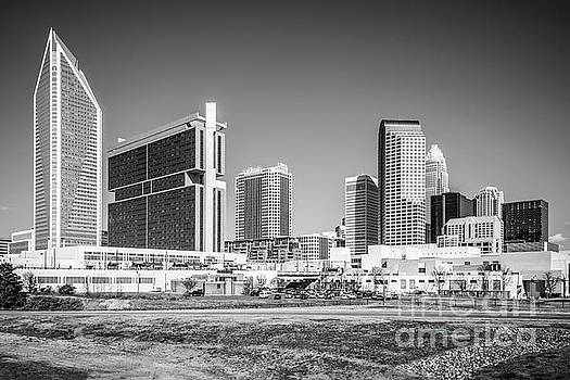 Paul Velgos - Charlotte Skyline Black and White Picture