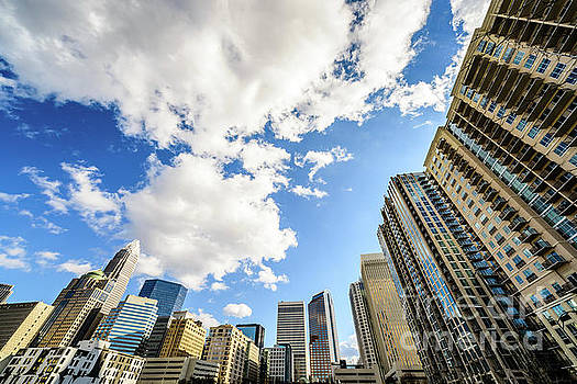 Paul Velgos - Charlotte Skyline Ultra Wide Angle Photo