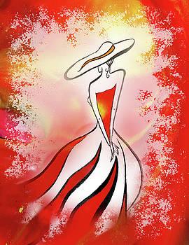 Irina Sztukowski - Charming Lady In Red