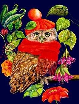 Charming Owl by Isabel Salvador