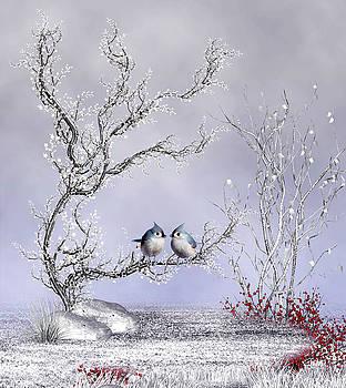 John Junek - Charming Winter Scene