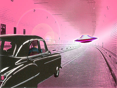 Chasing a Flying Saucer by Becky Alden