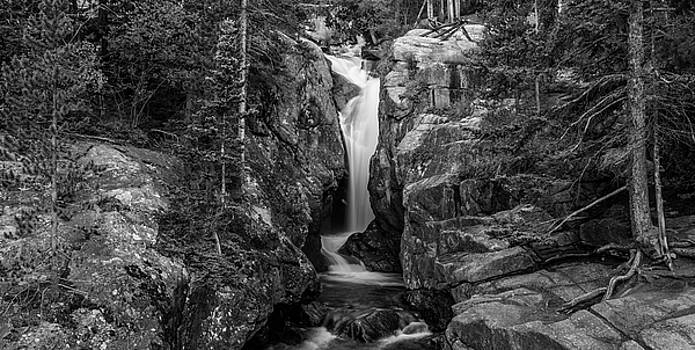 Chasm Falls In Black And White by Michael Putthoff