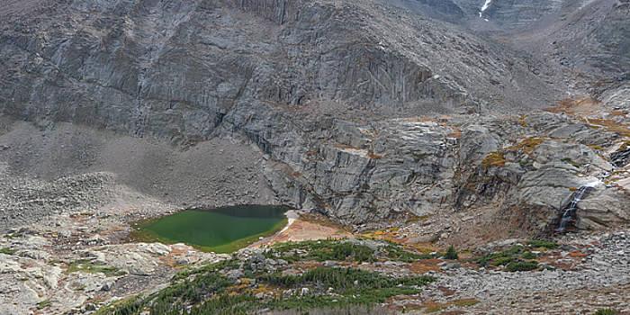 Chasm Lake and the Longs Peak Trail by Matthew MacPherson