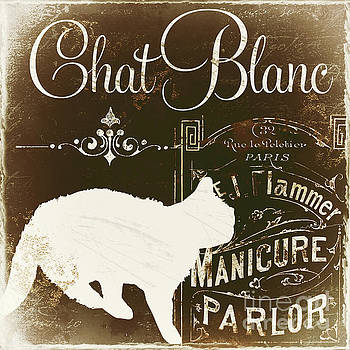 Chat Blanc by Mindy Sommers