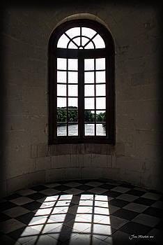Joan  Minchak - Chateau Chenonceau Window