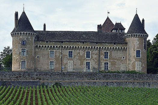 Chateau de Rully by Harvey Barrison