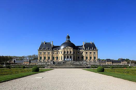 Chateau De Vaux Le Vicomte Seine Et Marne France by Catherine Leblanc