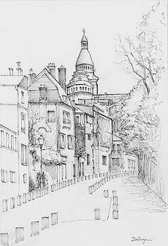 Chateau d Eau Montmartre by Dai Wynn