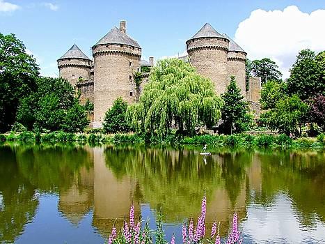 Chateau Fort Lassay - Normandy, France by Joseph Hendrix