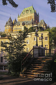 Bob Phillips - Chateau Frontenac and City Steps