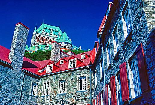 Dennis Cox WorldViews - Chateau Frontenac