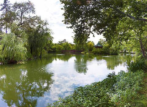 Chateau Montelena Winery Pond by G Matthew Laughton