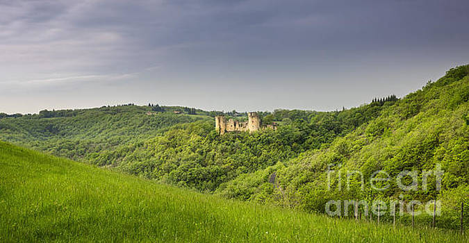Chateau Roussillon 1 by Tony Priestley