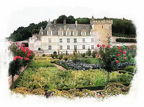 Chateau Villandry Flower and Vegetable Gardens by Joseph Hendrix