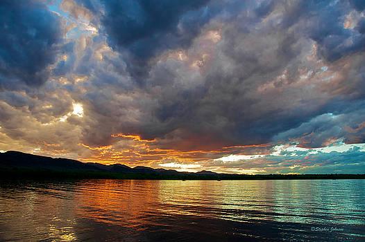 Chatfield Technicolor Sunset by Stephen Johnson
