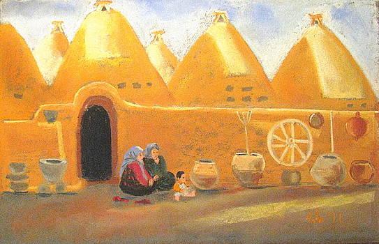 Chatting in Harran by Elena Malec