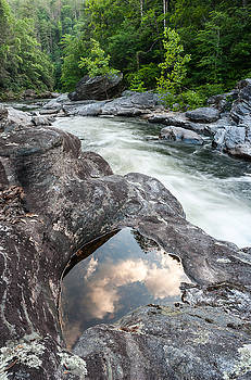 Chattooga Whitewater Southern River Summer Scenic by Mark VanDyke