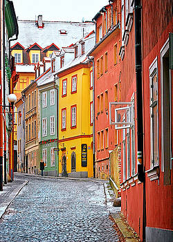 Christine Till - Cheb an old-world-charm Czech Republic town