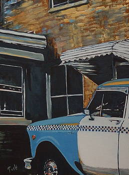Checker Cab by Laura Toth