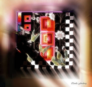 Checkerboard Mix by Carola Ann-Margret Forsberg