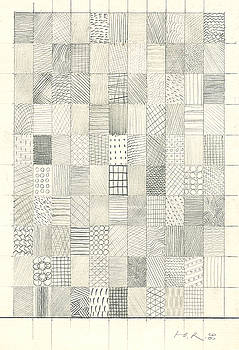 Checkered Structure N110. 1996 by Yuri Yudaev-Racei