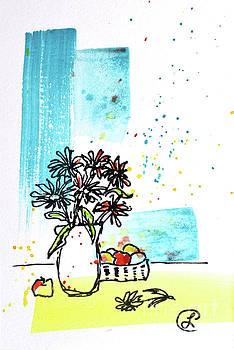 Cheeky Daisies by Lynda Cookson