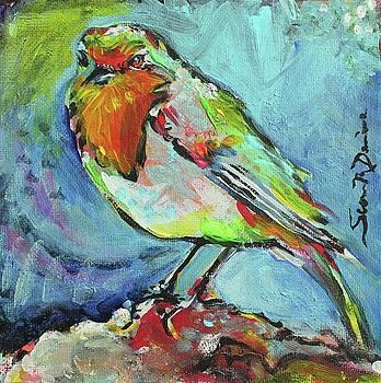Cheeky Warbler by Susan Davies