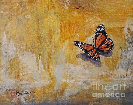 Cheerful visitor butterfly by Noelle Rollins