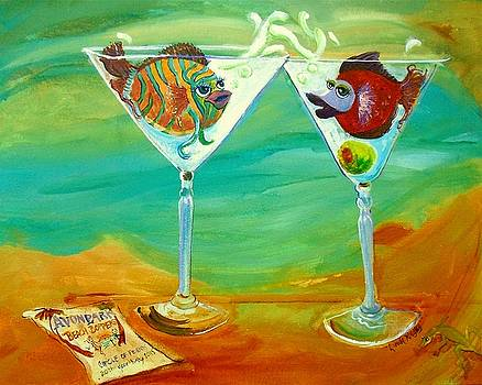 Cheers to the Beach Boppers by Linda Kegley