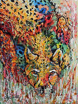 Cheetah Stalking  by Jyotika Shroff
