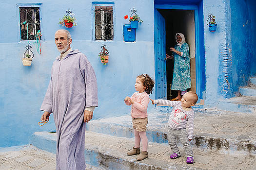 Chefchaouen, Morocco 2016 by Forrest Walker