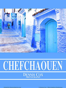Dennis Cox Photo Explorer - Chefchaouen Travel Poster