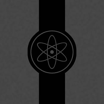 Chemistry atom logo by Playfulfoodie