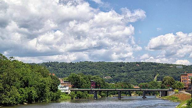 Chenango River by Frank Morales Jr