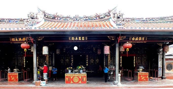 Cheng Hoon Teng Temple by Sandra Sengstock-Miller