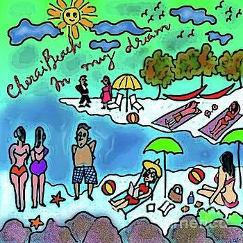 Cherai Beach by Latha Gokuldas Panicker