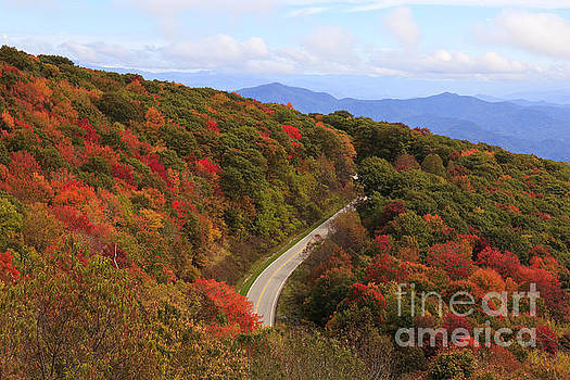 Jill Lang - Cherohala Skyway in NC