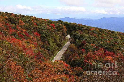 Jill Lang - Cherohala Skyway in the Fall