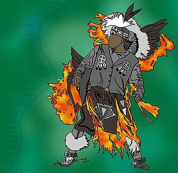 Cherokee 2 by M Blaze Wolenski